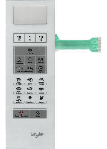 Imagem 1 de 2 de Membrana Teclado Microondas Panasonic Nnsf560 Nn Sf560 Style