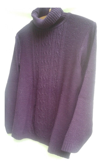 Lote 50 Prendas Invierno Mujer Poleras/sweater/camiseta T M
