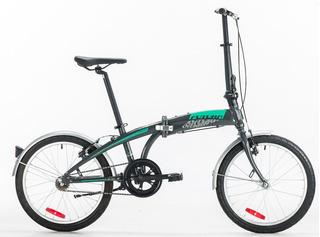 Bicicleta Plegable Futura Origami Rod. 20 Aluminio