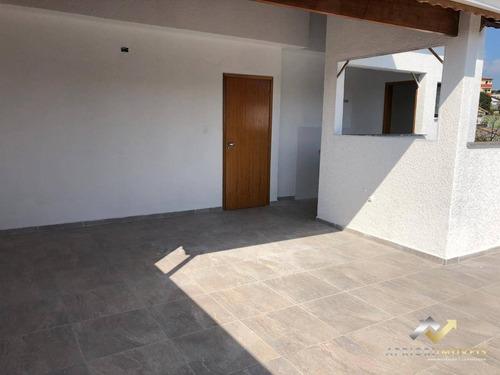 Cobertura Com 2 Dormitórios À Venda, 88 M² Por R$ 341.000 - Parque Oratório - Santo André/sp - Co0538