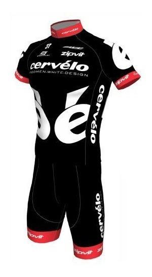 Conjunto Ciclismo Barbedo Cervélo Camisa + Bermuda Bike