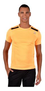 Tee Reebok Hombre Bk6276 Naranja