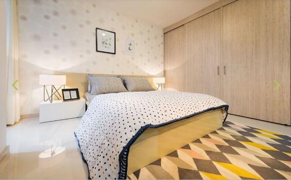 Apartamento En Villa Del Parque, Sector Chimeneas, De 50,5m2