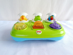 Fisher Price Bichinhos Musicais Surpresa Mattel - Funciona