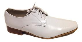 6f8b43d9b Sapato Masculino Verniz Branco 100 - Sapatos com o Melhores Preços ...