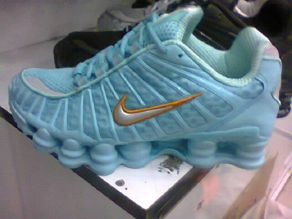 Tenis Nike Shox Tlx Retro Azul Celeste Nº35 Original!!!!