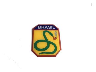 Adesivo Resinado Da Força Expedicionária Brasileira Feb