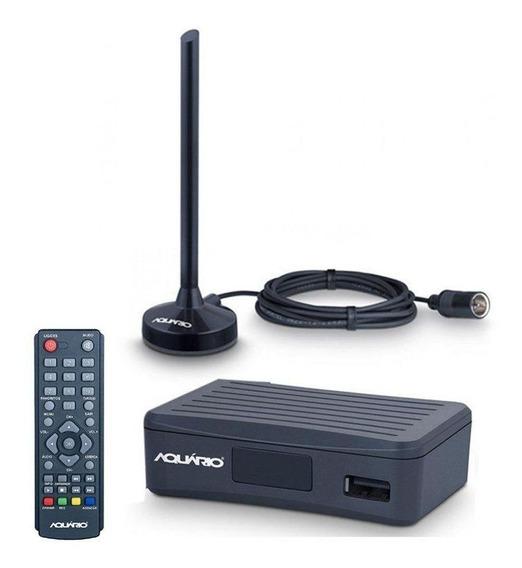Conversor E Antena Digital Aquário Dtv-4100 Hd Gravador