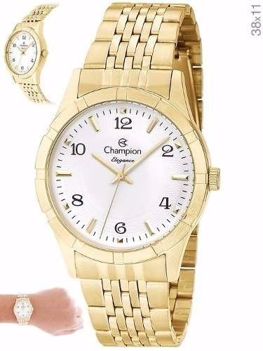 Relógio Champion Feminino Cn25449h Original Nota Fiscal