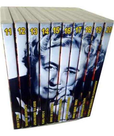 Coleção Agatha Christie Lote 2 Em 10 Dvds Imperdíveis