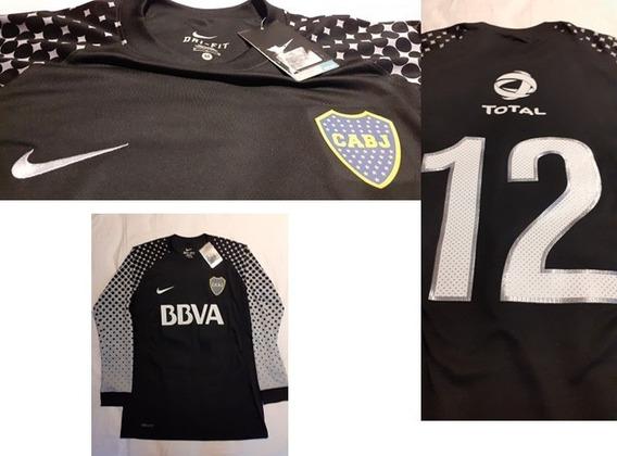 Camiseta De Boca Juniors De Arquero 2012 #12