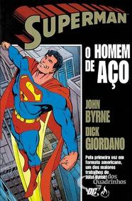 Superman: O Homem De Aço (john Byrne / Mythos)