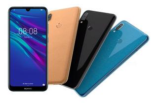 Huawei Y5 2019! Reconocimiento Facial! Nuevos! Cuero! Oferta