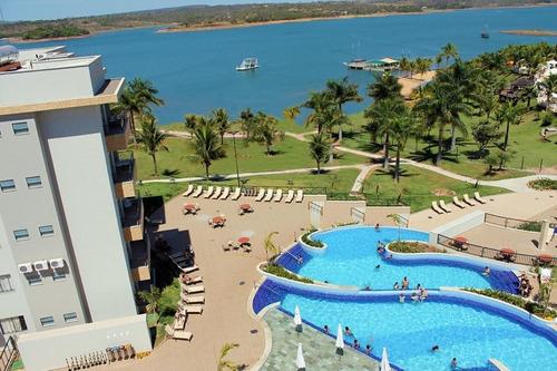 Imagem 1 de 11 de Vendo Cota Marina Flat  Quitada - Caldas Novas - Go