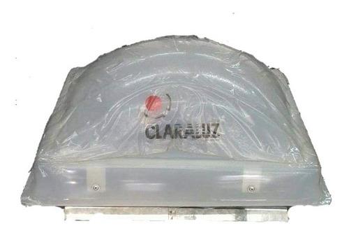 Claraboya Fija Base Galvanizadas Cupula Acrilico 25 X 36!!
