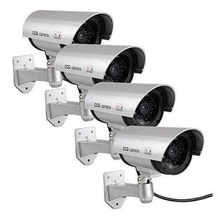 Cámara Seguridad Maniquí , Falso Sistema Vigilancia Cctv C