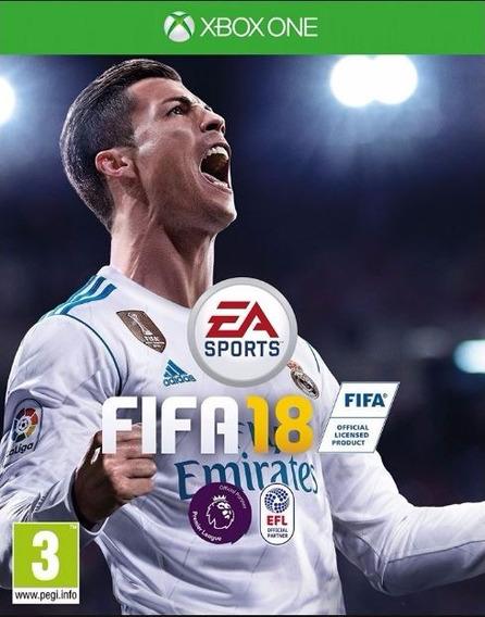 Fifa 18 Standard Xbox One Codigos 25 Digitos Promocional