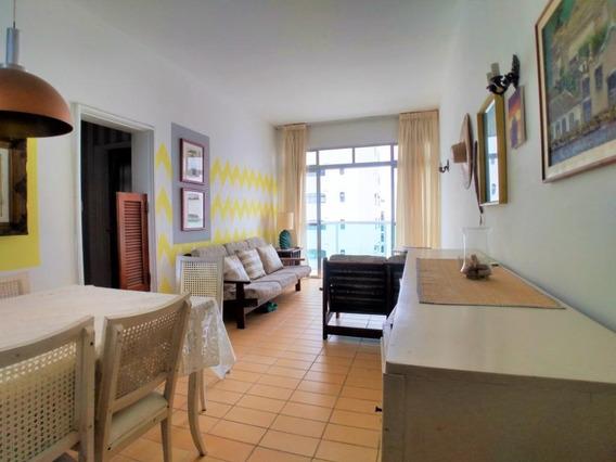 Apartamento Com 2 Dormitórios À Venda, 80 M² Por R$ 340.000 - Praia Das Pitangueiras - Guarujá-sp - Ap4812