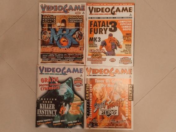 Revista Videogame News (complete Sua Coleção)