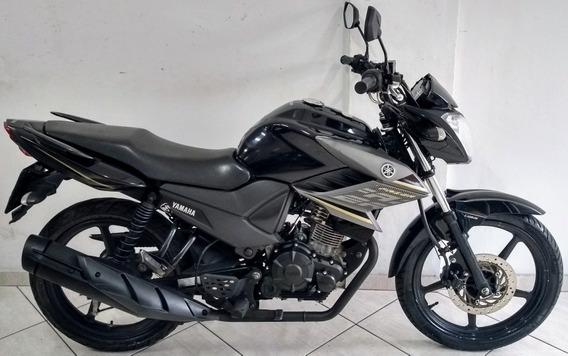 Yamaha Ys 150 Fazer Sed Flex 2017 Preta
