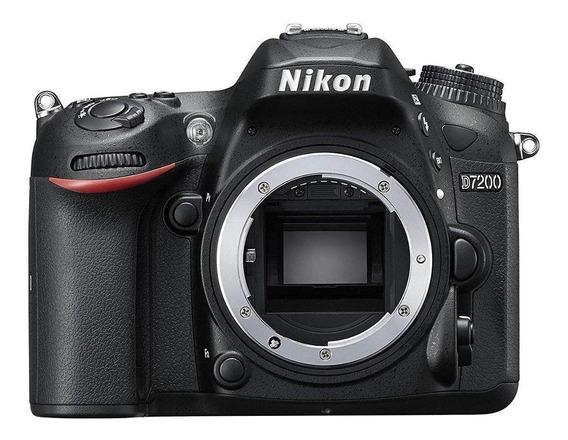 Nikon D7200 DSLR preta