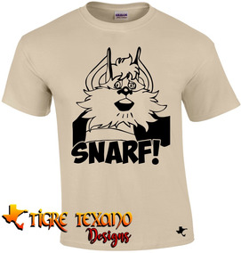 Playera Dibujos Animados Snarf Thunder Tigre Texano Design