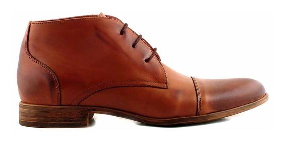 Bota Hombre Cuero Botita Zapato Casual Vestir - Hcbo00931