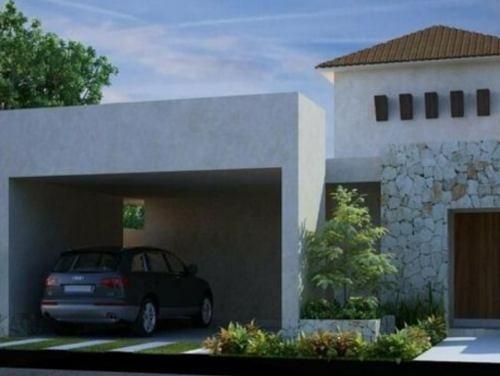 Norte De Merida, Casa De 1 Planta En Pre-venta