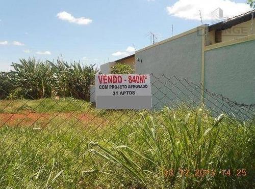 Terreno À Venda, 840 M² Por R$ 1.260.000,00 - Parque Das Universidades - Campinas/sp - Te2047