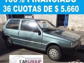 Fiat Uno Cs 95 100% Financiado En 36 Cuotas De $ 5660