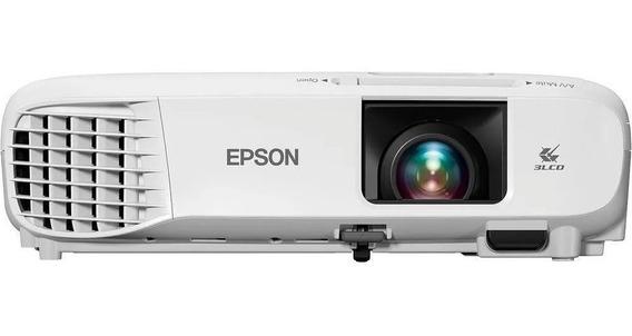 Projetor Epson 3300 Lumens Svga Datashow Vga/ Hdmi/ Rca S39