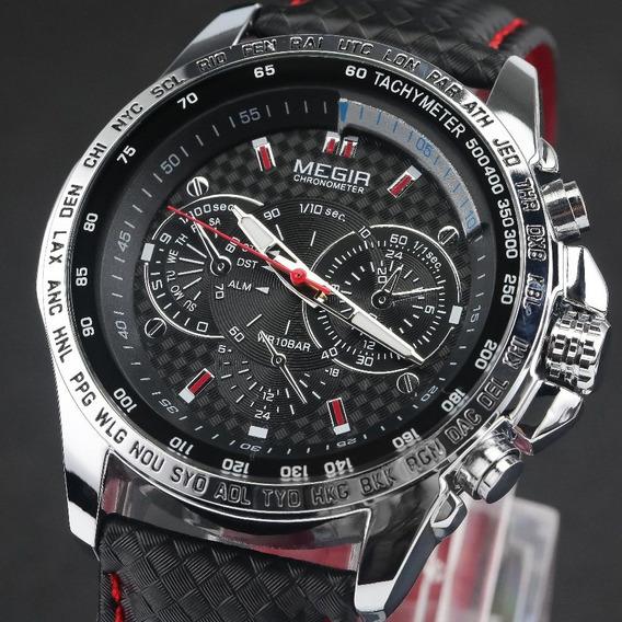 Relógio Masculino De Pulso Megir - Dea244b68
