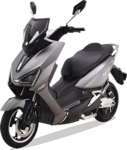 Moto Electrica Inteligente Aima Bosch T3 1800w Litio Gris