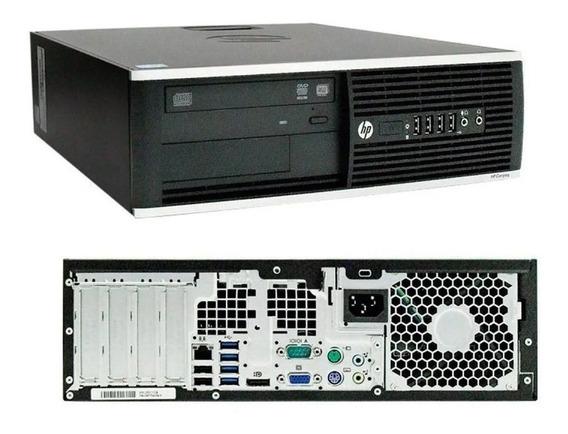 Cpu Desktop Hp Compaq8000 Core2duo 4gb Ssd120 Wind(original