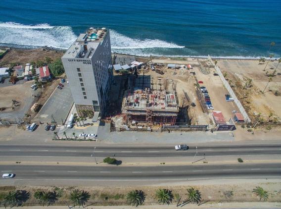 Venta De Departamento Condominio De 122.82/1322.02 Tipo B2 Torre B , Viento En Ensenada B.c.