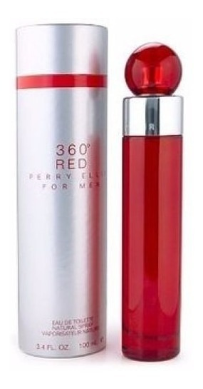 Perfume 360° Red Perry Ellis -- 100ml -- Hombre Original
