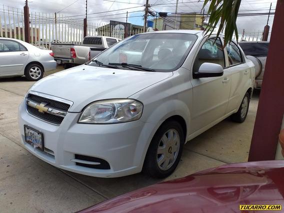 Chevrolet Aveo Lt 4p Automatico