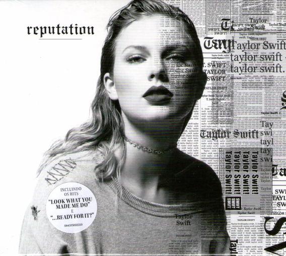 Cd Taylor Swift - Reputation - Com Luva - Novo Lacrado***