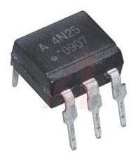 Circuito Integrado Optoacoplador 4n25