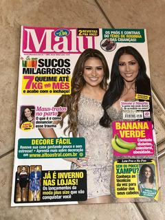Revista Malu 763 Simone E Simaria Patricia Poeta Ano 2017