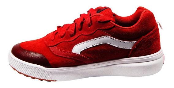 Zapatillas De Hombre Urbanas Estilo Old School Rojo