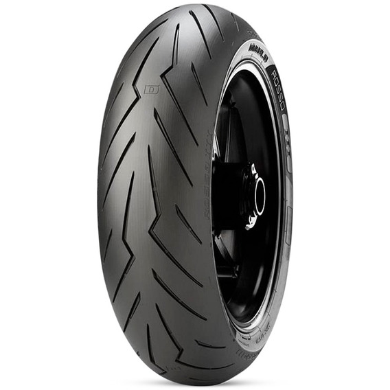 Pneu Moto Pirelli Aro 17 Diablo Rosso 3 180/55r17 73w Tras