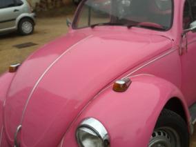 Fusca 1300l 69 Rosa