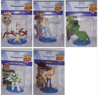 Set Figuras Toy Story 4 Forky Woody Buzz Rex Betty 7cm