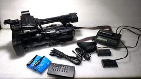 Filmadora Sony Hvr-z1n Em Bom Estado De Conservação