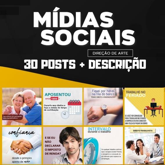 30 Posts Para Advogados - Facebook E Instagram