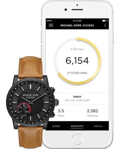 Michael Kors Reloj Mk Smartwatch Híbrido De Hombre Caballero