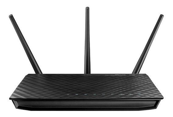 Router Wifi Asus Ac66u Ac1750 Doble Banda Smart 1750 Mbps