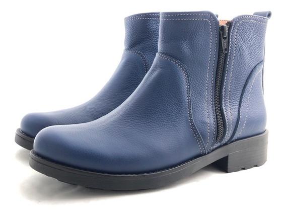Bota Dos Cierres Deste 4655 El Mercado De Zapatos!