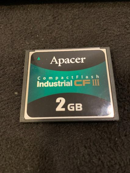 Apacer 2gb Compact Flash Industrial Cf I I I (semi Novo)